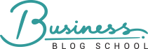 Business Blog School logo